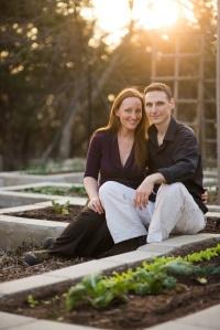 Dawn and Kurt in Garden