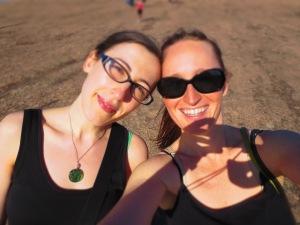 Dawn and Christine