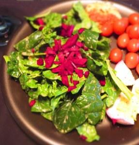 Beet Spinach Salad